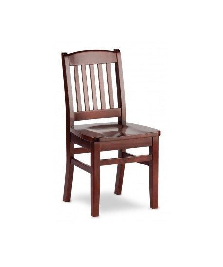 Bulldog Wood Chair ~ Bulldog side chair