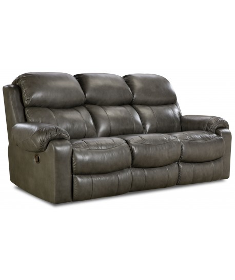 Unit 135 Double Reclining Sofa Leather
