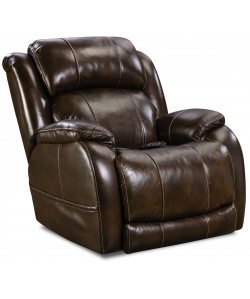 Unit 170 Rocker Recliner Power Leather Space Saver