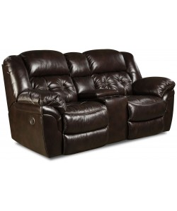 Unit 155 Double Reclining Loveseat Leather