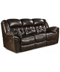 Unit 155 Double Reclining Sofa Leather