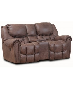 Xtinguisher Double Reclining Rocking Loveseat
