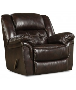 Unit 155 Rocker Recliner Leather