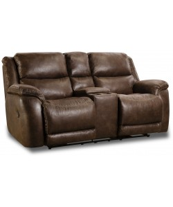 Defender Double Reclining Rocking Loveseat