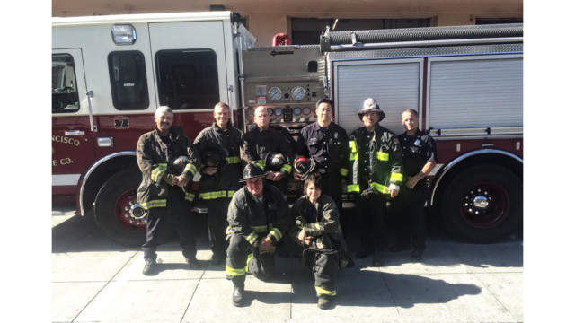 San Francisco Firehouse 7 Receives Top Unit Citation Award